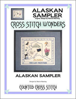 Cross Stitch Wonders Marcia Alaska Sampler Cross stitch pattern