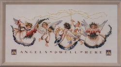 Mirabilia Angel Proclamation MD25 cross stitch pattern