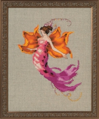 Mirabilia Autumn Blaze NC252 victorian cross stitch