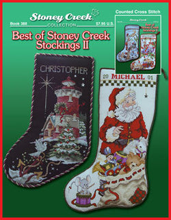Stoney Creek Best of Stoney Creek Stockings II Christmas cross stitch pattern