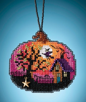 Mill Hill Bewitching Pumpkin beaded kit