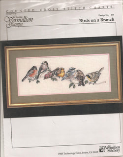 Birds on a Branch pattern