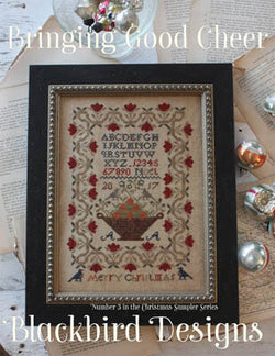 Blackbird Designs Bringing Good Cheer cross stitch pattern