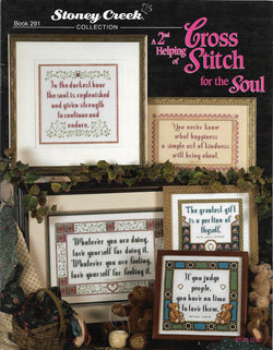 Stoney Creek Cross Stitch for the soul 2nd helping BK291 cross stitch pattern
