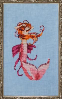 Mirabilia Cara Mia NC235 mermaid cross stitch pattern