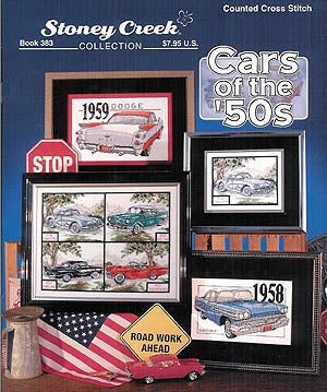 Stoney Creek Cars of the 50's BK383 cross stitch booklet
