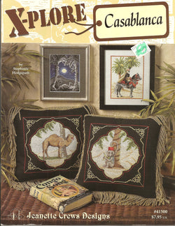 Jeanette Crews X-plore Casablanca cross stitch pattern