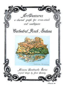 Art Ventures The Cathedral Rock Sedona cross stitch pattern