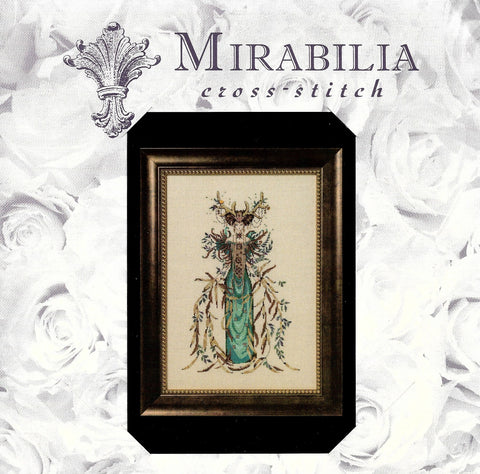 Mirabilia Cathedral Woods Goddess MD-164 victorian cross stitch