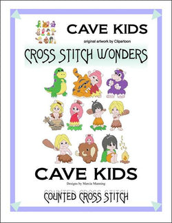Cross Stitch Wonders Marcia Manning Cave Kids Cross stitch pattern
