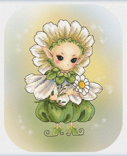 Lena Lawson Chamomile Sprite cross sttch pattern
