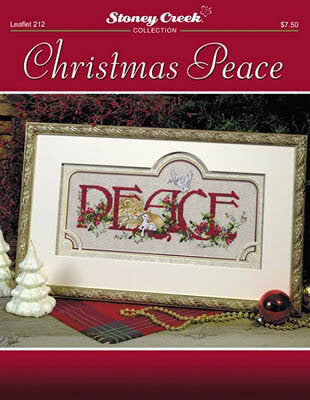 Stoney Creek Christmas Peace LFT212 cross stitch pattern