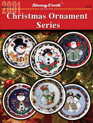 Stoney Creek Christmas Ornament Series LFT174 cross stitch booklet