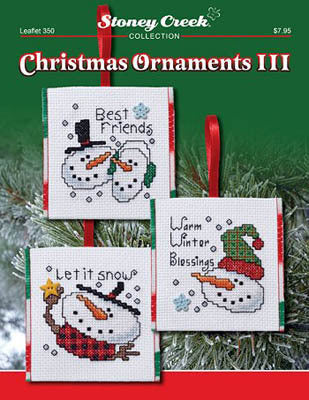 Stoney Creek Christmas Ornaments III LFT350 cross stitch booklet