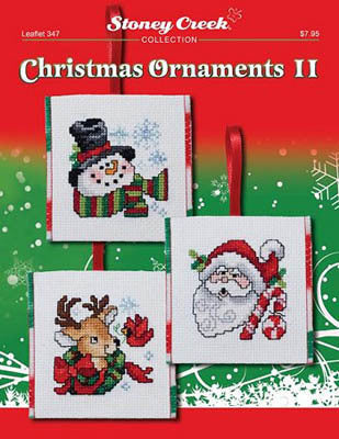 Stoney Creek Christmas Ornaments II LFT347 cross stitch booklet