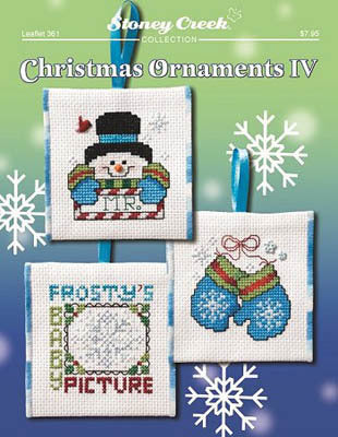 Stoney Creek Christmas Ornaments IV LFT361 cross stitch booklet