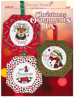 Stoney Creek Christmas Ornaments IX LFT424 cross stitch pattern