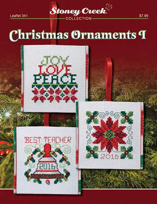 Stoney Creek Christmas Ornaments I LFT341 cross stitch booklet