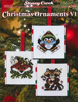 Stoney Creek Christmas Ornaments VII LFT420 cross stitch pattern