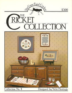 Cricket Collection Collection 4 cross stitch leaflet