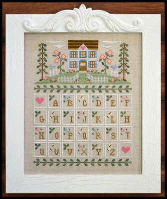 Country Cottage Needleworks Cottage Alphabet cross stitch pattern