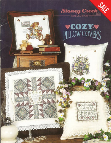Stoney Creek Cozy Pillow Covers BK274 cross stitch pattern