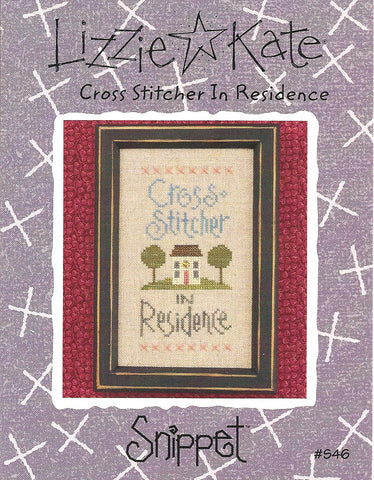 Lizzie Kate Cross Stitcher in Residence S46 cross stitch pattern