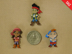 Jake and the Neverland Pirates Disney needle minders