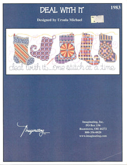 Imaginating Deal with it 1983 cross stitch pattern