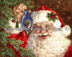 Heaven and Earth designs Deck the Halls by Dona Gelsinger christmas cross stitch pattern