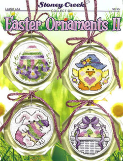 Stoney Creek Easter Ornaments II LFT484 cross stitch pattern