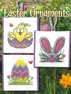 Stoney Creek Easter Ornaments LFT483 cross stitch pattern