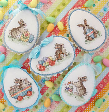 Sue Hillis Easter Parade L728 cross stitch pattern