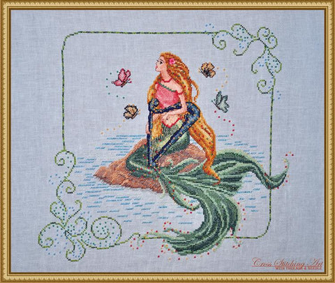 Cross Stitching Art Enchanted Melody fashion fantasy cross stitch pattern