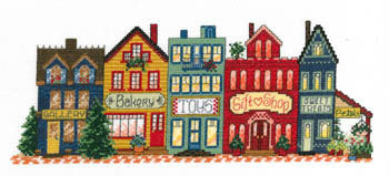 Imaginating Everyday Main Street 2899 cross stitch pattern