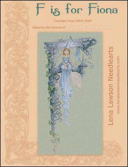 Lena Lawson F Is For Fiona cross stitch pattern