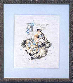 Mirabilia Fairy Tales MD-20 victorian cross stitch