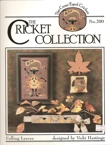 Cricket Collection number 200 Falling Leaves cross stitch leaflet