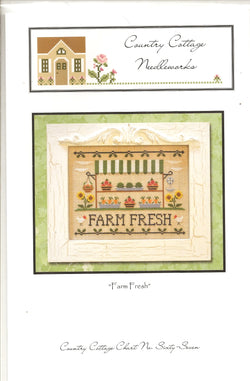 Country Cottage Needleworks Farm Fresh cross stitch pattern