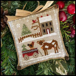 Little House Needleworks Dairy Darlin' Farmhouse Series #4 cross stitch pattern