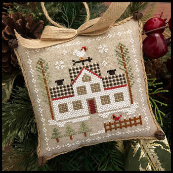 Little House Needleworks Cock-a-doodle-do Farmhouse Series #7 cross stitch pattern