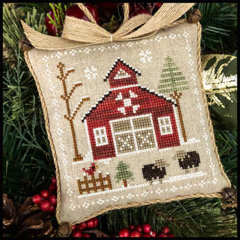 Little House Needleworks Baa Baa Blac Sheep Farmhouse Series #9 cross stitch pattern