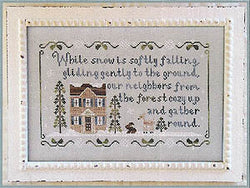 Country Cottage Needleworks Forest Snowfall cross stitch pattern