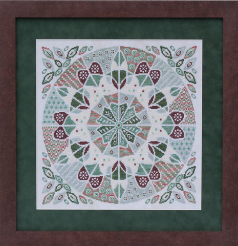 Glendon Place Fudgy Mint Mousse GP-204 cross stitch pattern