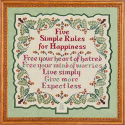 Five Simple Rules for Happiness GP-104 pattern