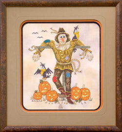 Glendon Place A Sociable Scarecrow Fall Autumn Halloween cross stitch pattern