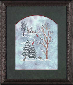 Glendon Place New Snow GP-117 cross stitch pattern