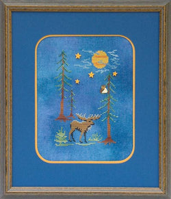 Glendon Place Moose By Moonlight GP-143 silk floss pack