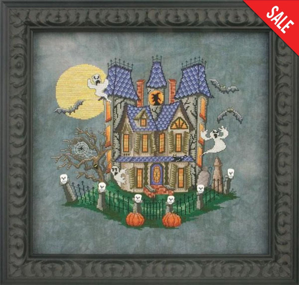 Glendon Place Murky Manor GP146 cross stitch pattern