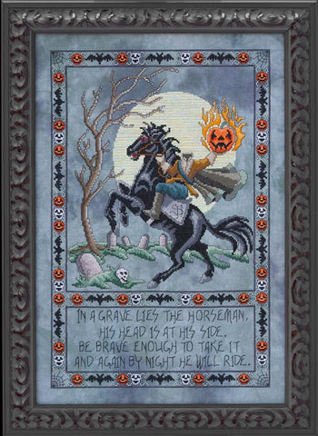 Glendon Place Sleepy Hollow GP-161 cross stitch pattern